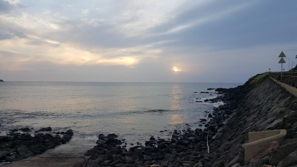 제주도 고산 용수포구 포인트 무늬 오징어 낚시 - 2019년 9월 5일 -