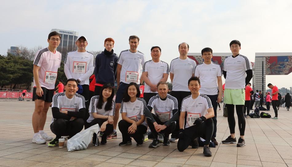 함께 달리며 추억을 쌓은 한화토탈 Runners!