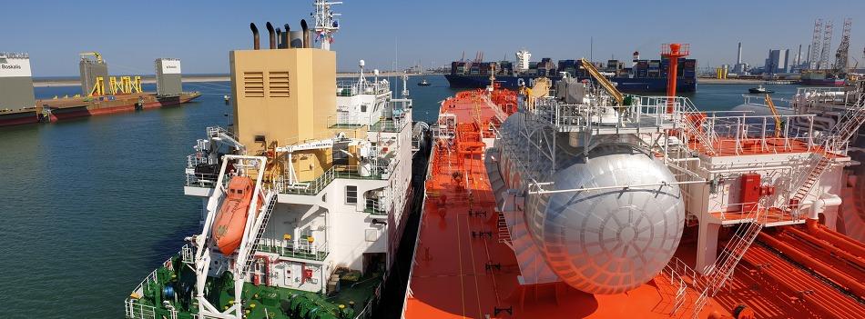 삼성重, 친환경 LNG 연료 추진선 첫 출항 성공
