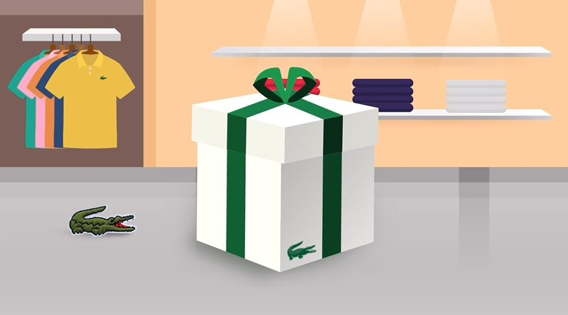 FIND YOUR LACOSTE GIFT