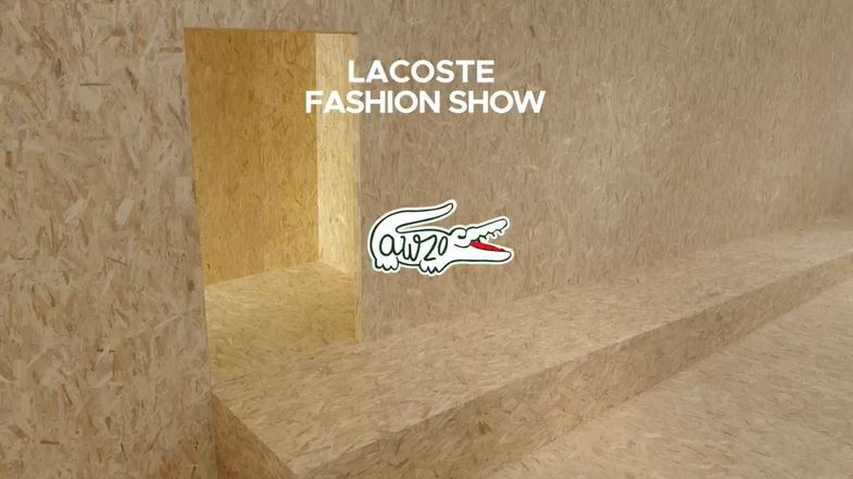 LACOSTE AW20 FASHION SHOW