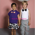 HOODIED VEST with BOW+HARLE..