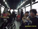 제주대회 갈때 인천팀이 공항 버스 점..