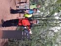 용마산에서의 정겨운 얼굴들