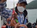 여수 케이원피싱 7월 11일 돌문어, 한..