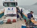 여수 케이원피싱 6월 6일 돌문어 출조..
