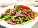 酸豆角牛肉