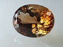 Imperial topaz oval shape. ..