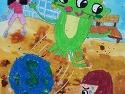 9세, 율이가 펼쳐나가는 즐거운 미술 ..