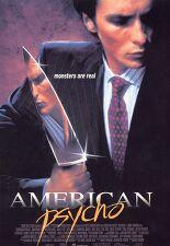 아메리칸 사이코 포스터