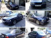 BMW 540i 직수입차 사고차..