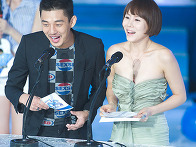 박예진 섹시한 오프숄더 드레스!!