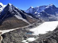 위험 : 네팔의 빙하 호수가..