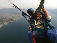 Paragliding at Pok..