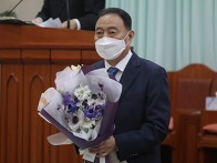 김진태 장립집사님 은퇴식..