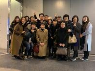 JCC 아트센터 공연후 단체..