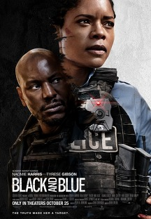 블랙 앤 블루 포스터