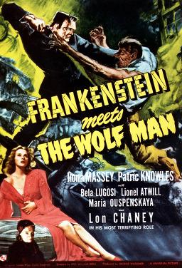 프랑켄슈타인 늑대인간을 만나다