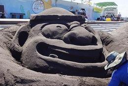 검은 모래찜질로 유명한 삼양검은모래 해변축제