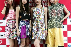 스캔달, J-걸즈 록의 현재를 대표하는 밴드, 첫 한국 나들이 [2014년]