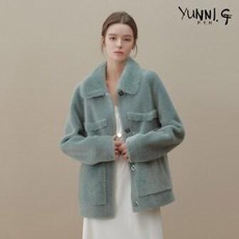 [신세계TV쇼핑]역시즌 신상특가 [yunni.G] 유니지 리얼 양모100 하프코트