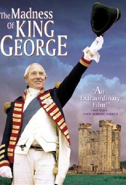 죠지 왕의 광기 포스터