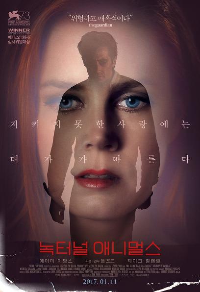 녹터널 애니멀스 포스터