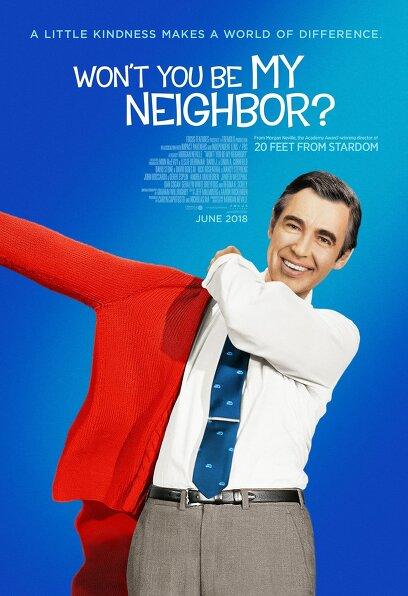내 이웃이 되어 줄래요? 포스터