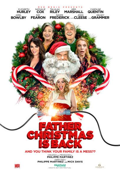 파더 크리스마스 이즈 백 포스터