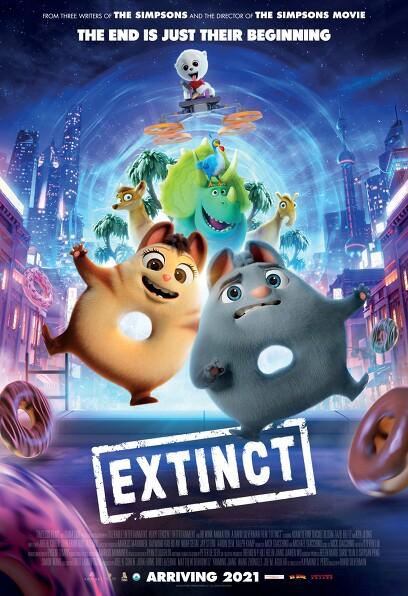 멸종은 싫어! 포스터