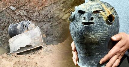 1개 토기에 3가지 표정..살아있는 신라의 얼굴 찾았다