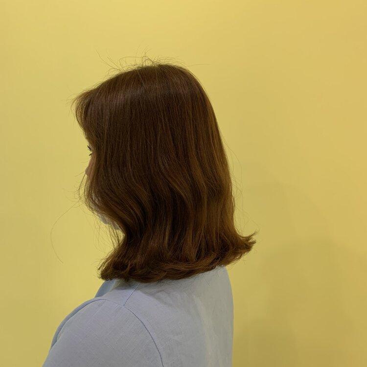 뿌리염색, 여성컷, 셋팅펌