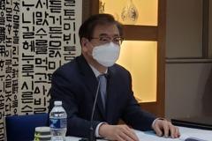 """서훈 """"한미일, 북핵문제 시급성·북미협상 조기재개 노력 공감""""(종합)"""