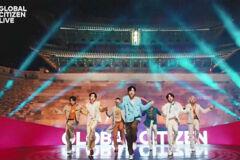 '6대륙 24시간 자선 공연' BTS가 오프닝..수만 명 운집