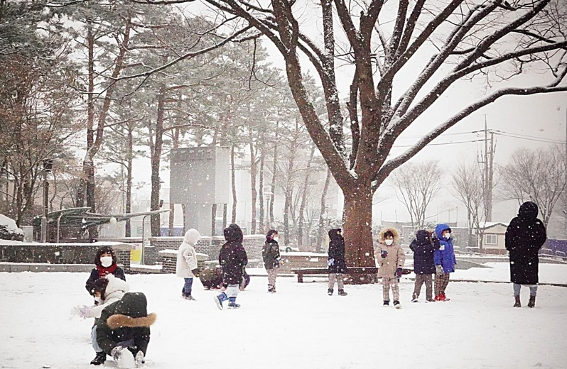 [포토친구] 야 하얀 눈이 온다