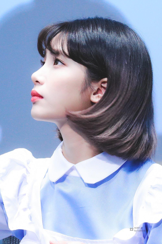 단발이 예쁜 여자아이돌