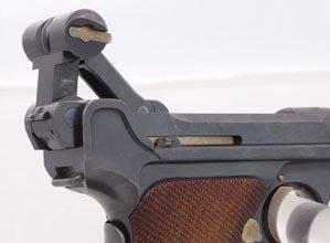 1908년산 독일 권총