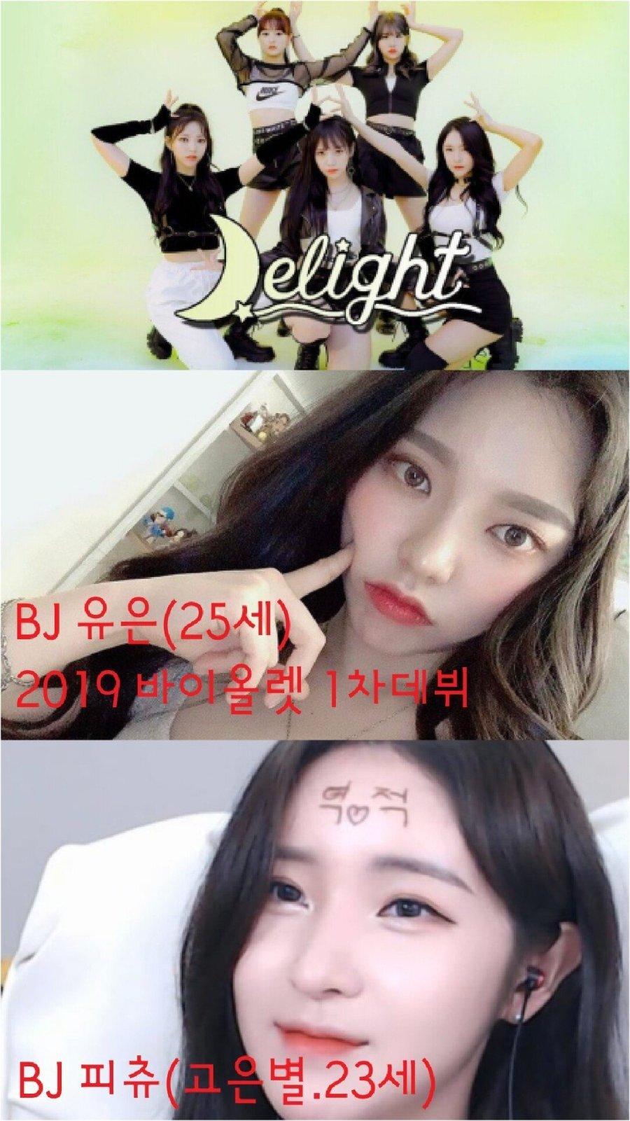 제2호 BJ 걸그룹 딜라이트 멤버 (데뷔 예정)