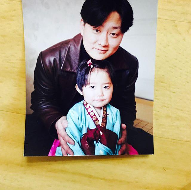 김소혜 아기 시절