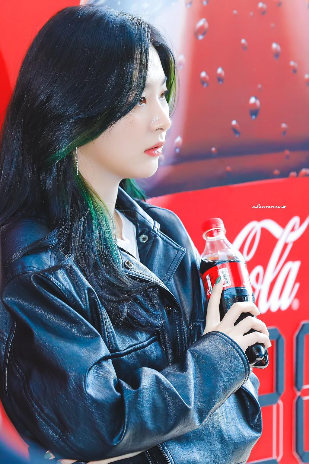 스케줄 2개 뛴 레드벨벳 슬기의 온도차 - 꾸르