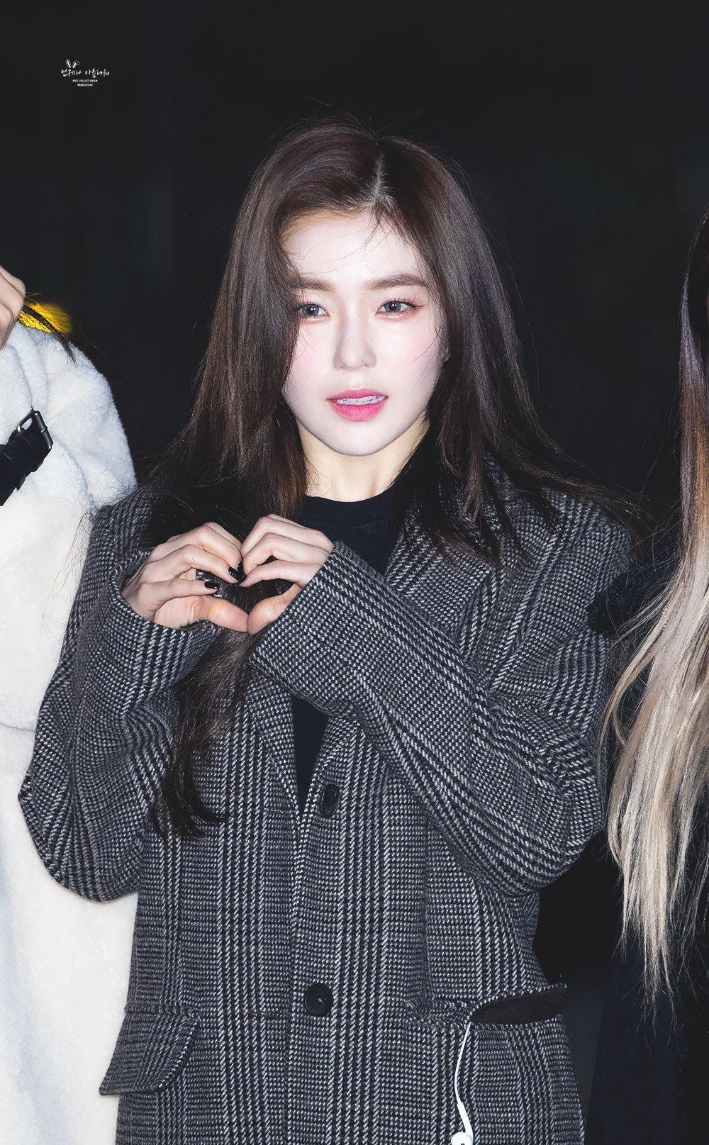 진짜 추워보였던 코트 입은 레드벨벳 아이린 출근길 - 꾸르