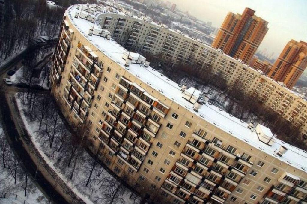 소련 시절 아파트