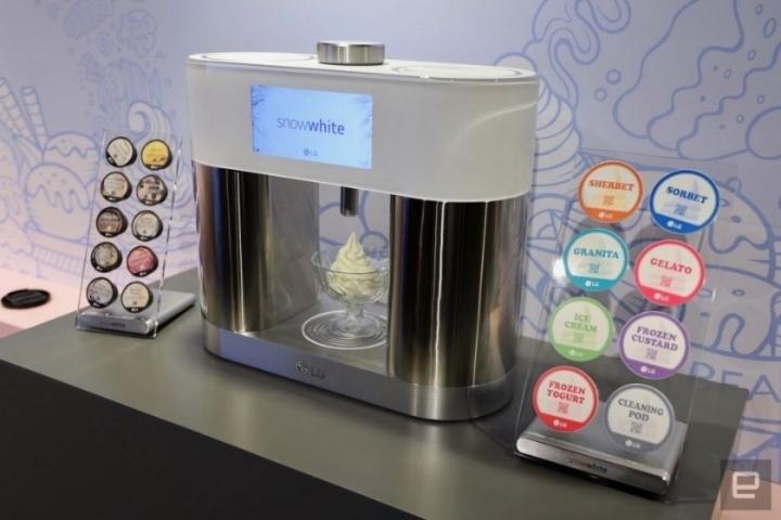 LG전자에서 나온 가정용 아이스크림 제조기