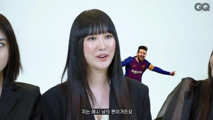 브레이브걸스 메보좌 민영 축구 최애팀 - 꾸르