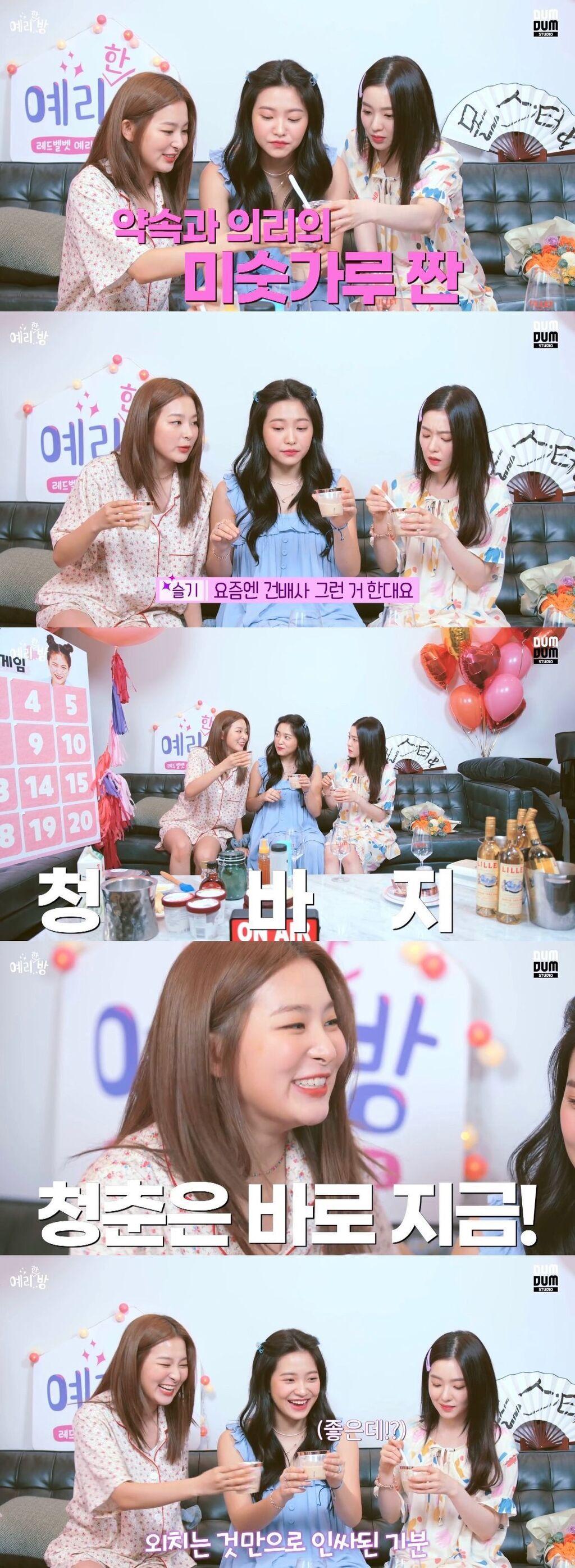 레드벨벳 슬기가 좋아하는 건배사 - 꾸르