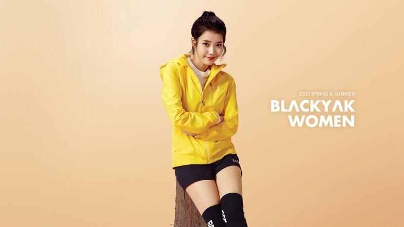 블랙야크 2021ss 새로운 여자모델 - 꾸르