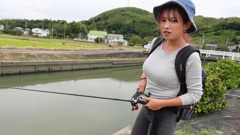 일본 낚시왕 누나 - 꾸르