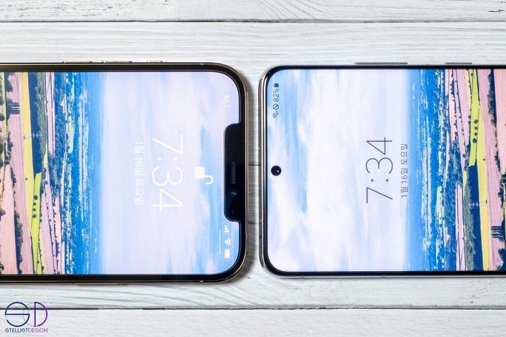 아이폰12 vs 갤럭시S21 비교 사진 - 꾸르