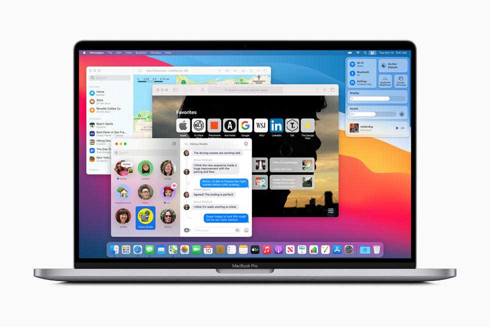 새로운 맥 OS 빅 서(Big Sur) 정식 출시..11월 13일부터 다운로드 및 업그레이드 가능