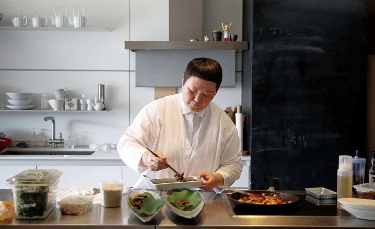 Chef Roh Younghee (Pic: Julia Lee)